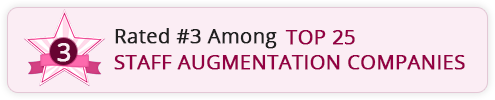 Mind IT ranked 3rd amound top 25 Staff Augmentation companies