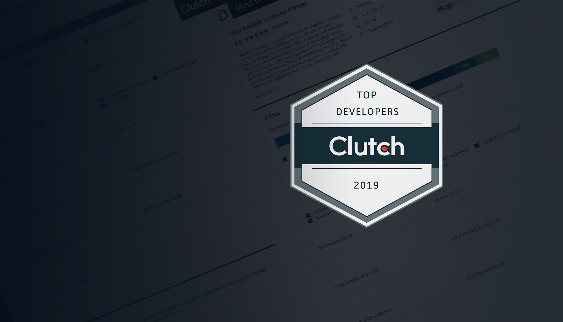 Top Developer for 2019!